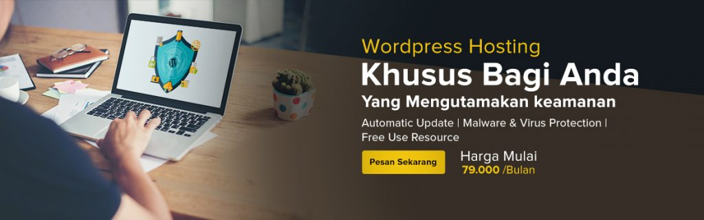 wordpress hosting (Slide Banner)
